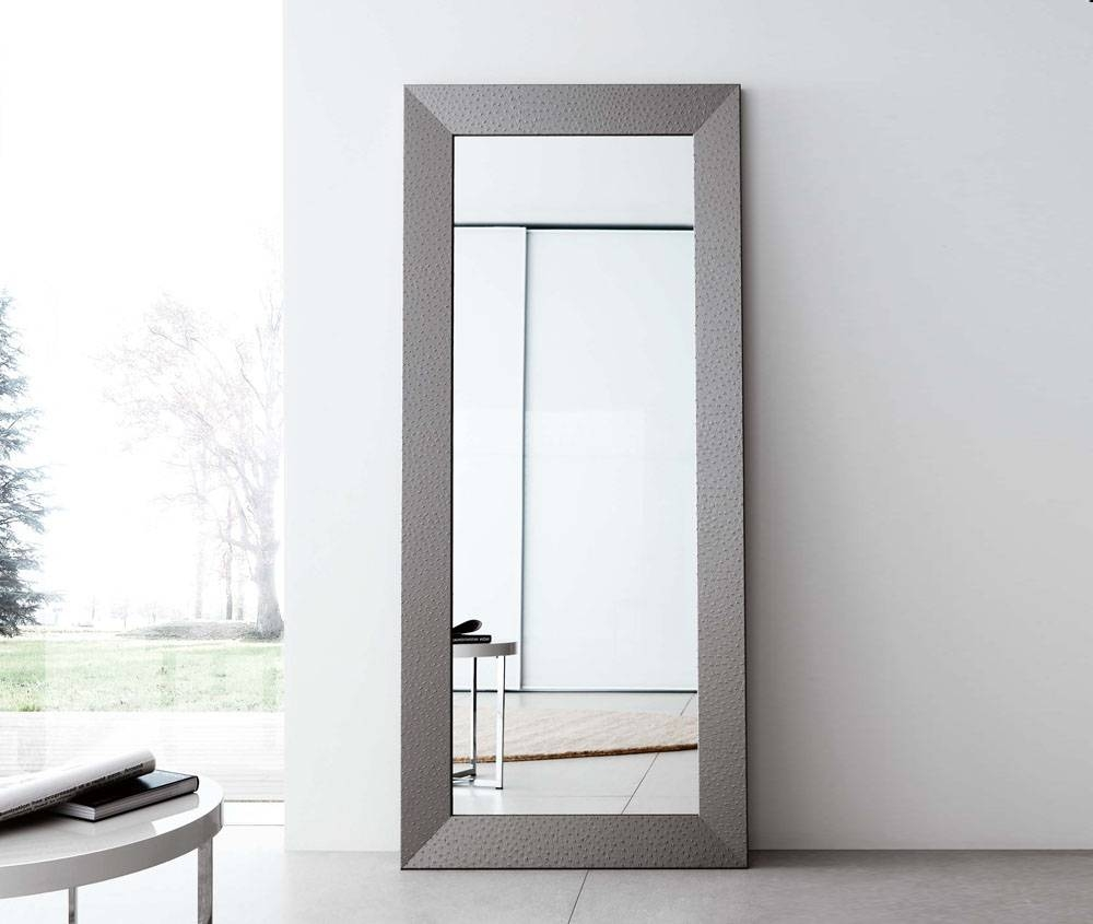 Modern Full Length Mirror – Harpsounds.co for Large Floor Length Mirrors (Image 24 of 25)