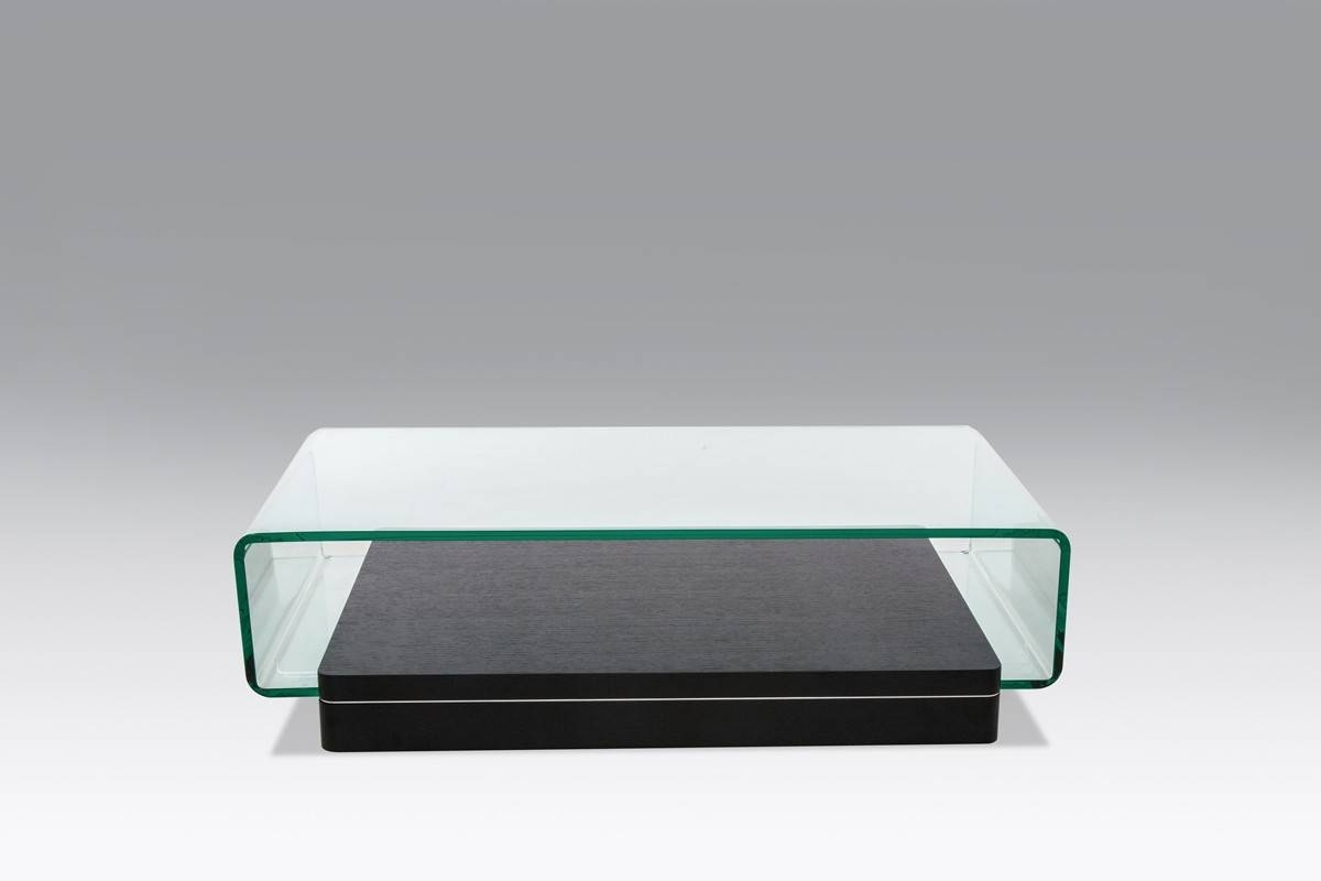 Modern Glass And Oak Coffee Table regarding Glass and Oak Coffee Tables (Image 22 of 30)