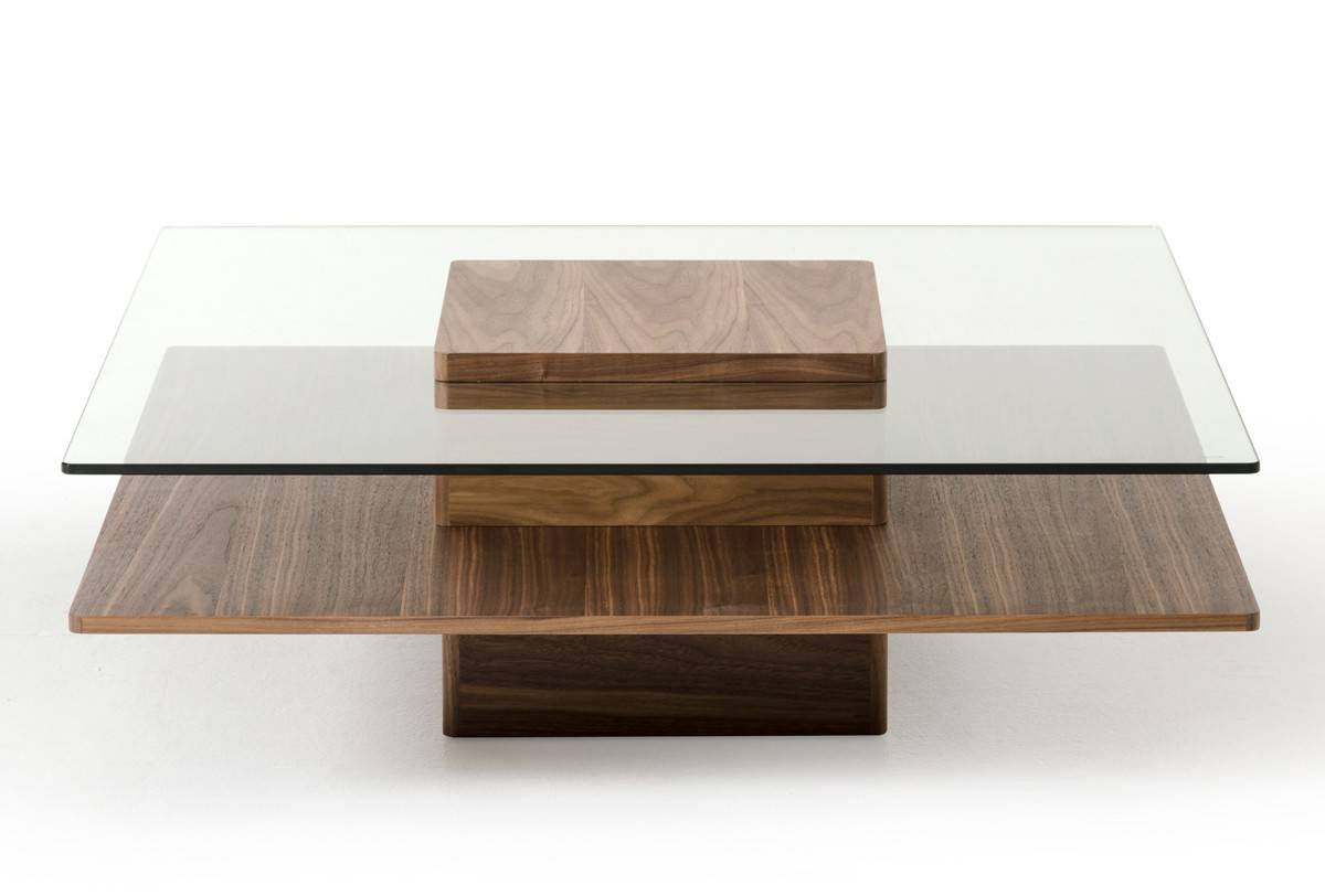 Modern Glass Coffee Tables For Your Modern Kitchen - Chocoaddicts in Modern Square Glass Coffee Tables (Image 7 of 15)