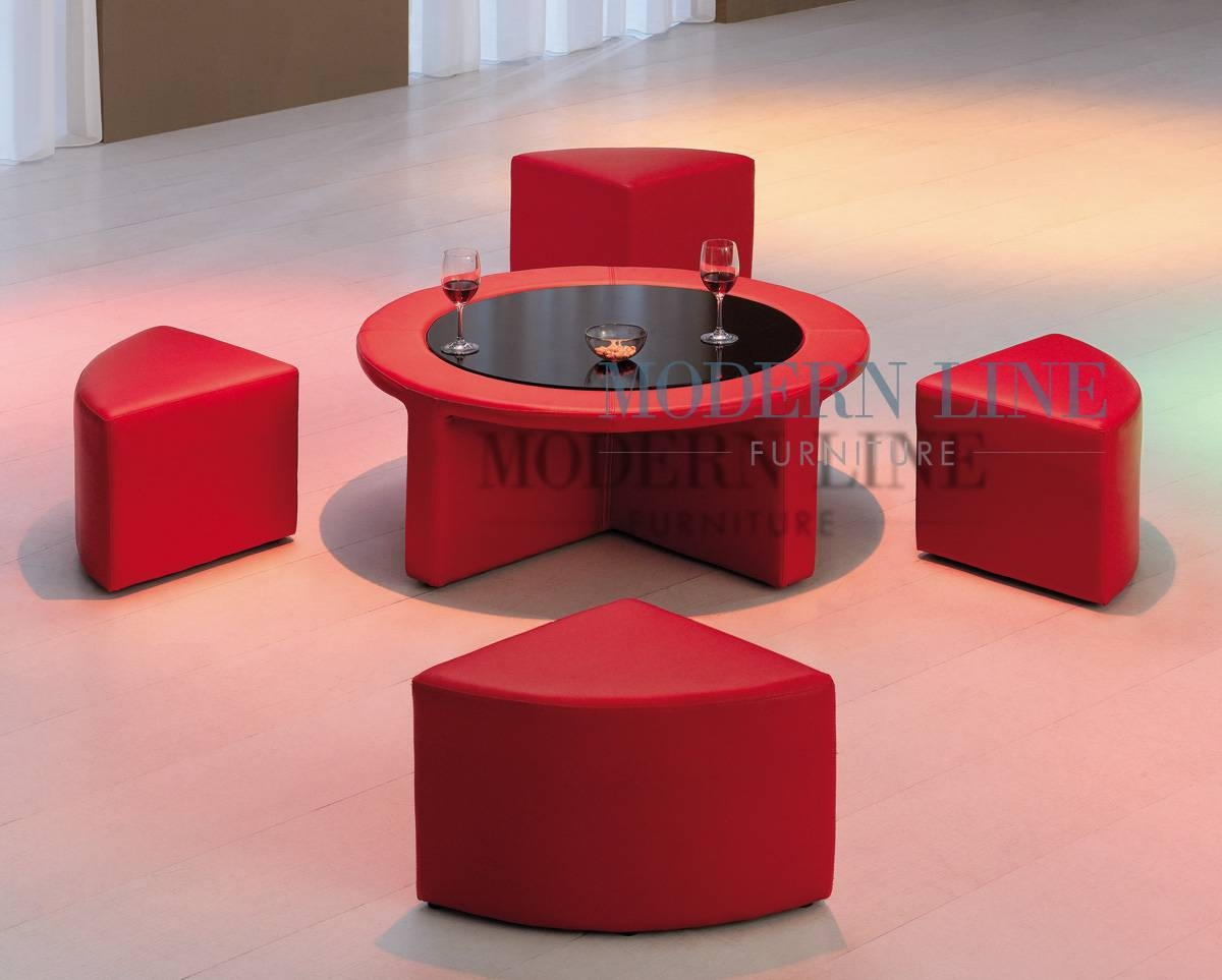 Modern Line Furniture - Commercial Furniture - Custom Made for Red Round Coffee Tables (Image 17 of 30)