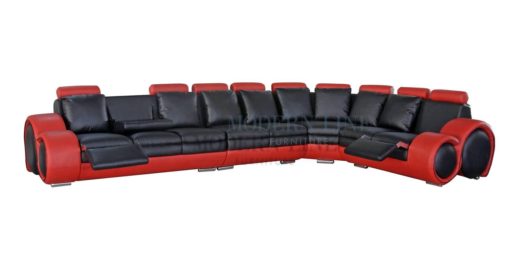 Modern Line Furniture - Commercial Furniture - Custom Made intended for Red Black Sectional Sofa (Image 19 of 30)