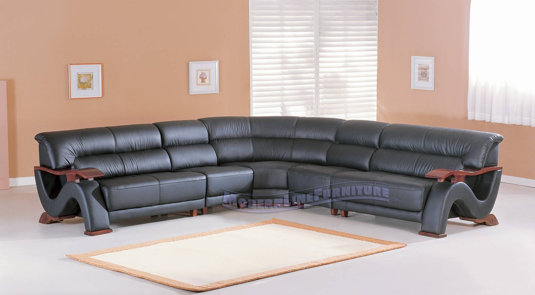 Modern Line Furniture – Commercial Furniture – Custom Made Pertaining To Contemporary Black Leather Sofas (View 19 of 30)