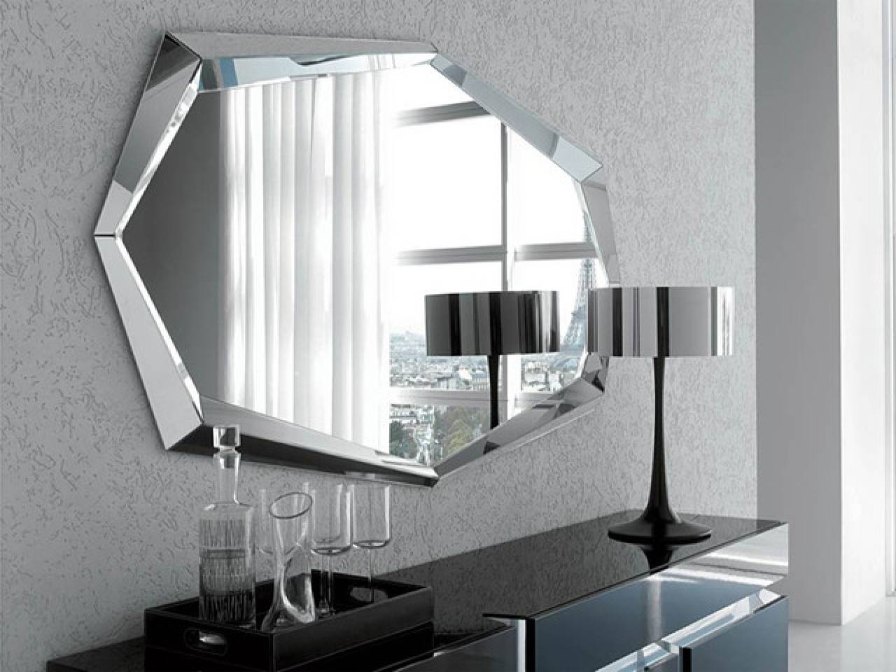 Modern-Makeup-Mirror-Modern-Makeup-Mirrors-Modern-Countertop-In-Modern-Wall- Mirror within Contemporary Wall Mirrors (Image 23 of 25)