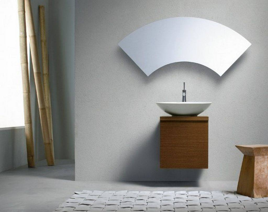 Modern Mirrors For Bathroom 15 Nice Decorating With Modern within Unusual Mirrors for Bathrooms (Image 24 of 25)