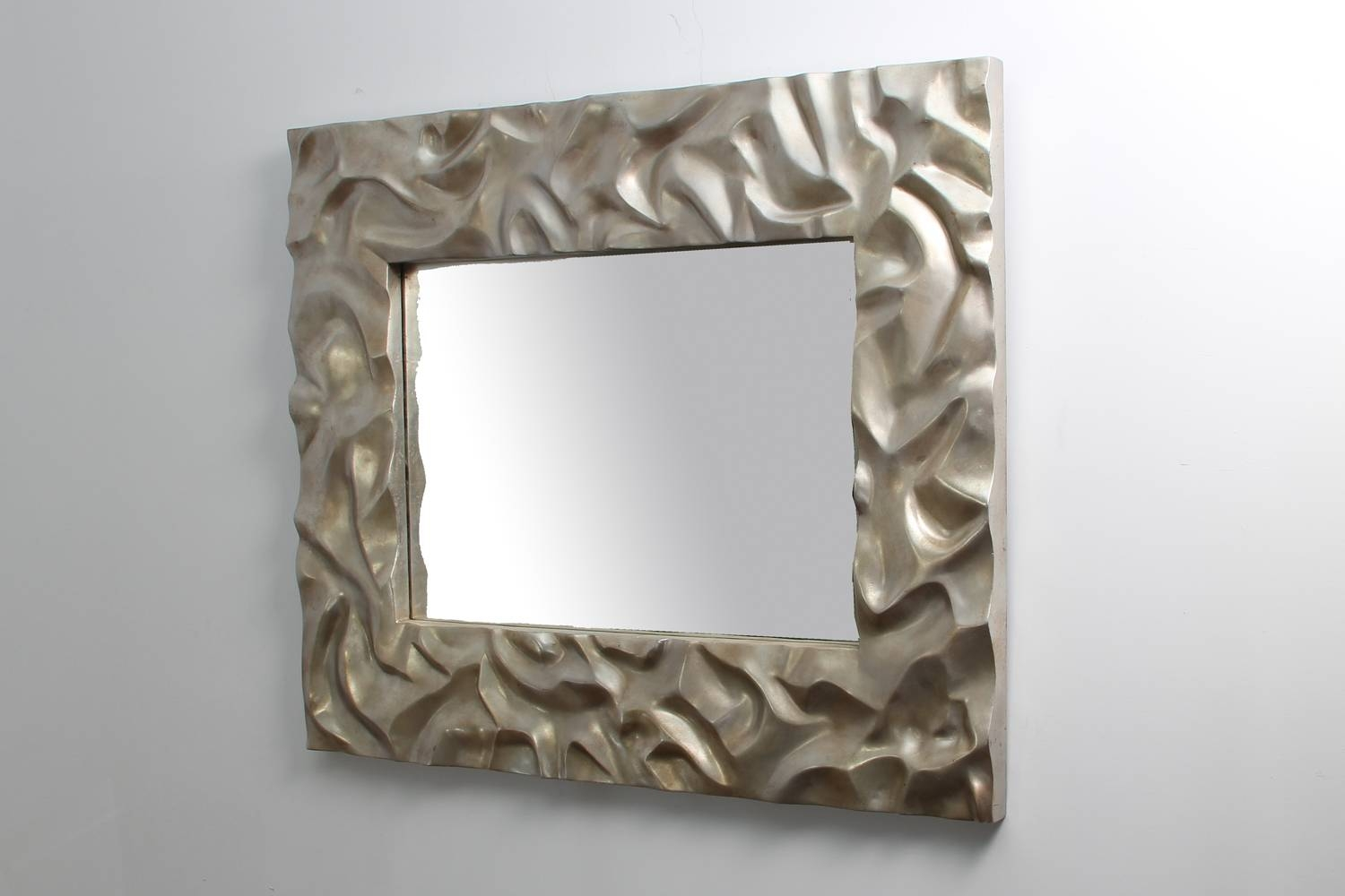 Modern Mirrors in Modern Silver Mirrors (Image 15 of 25)