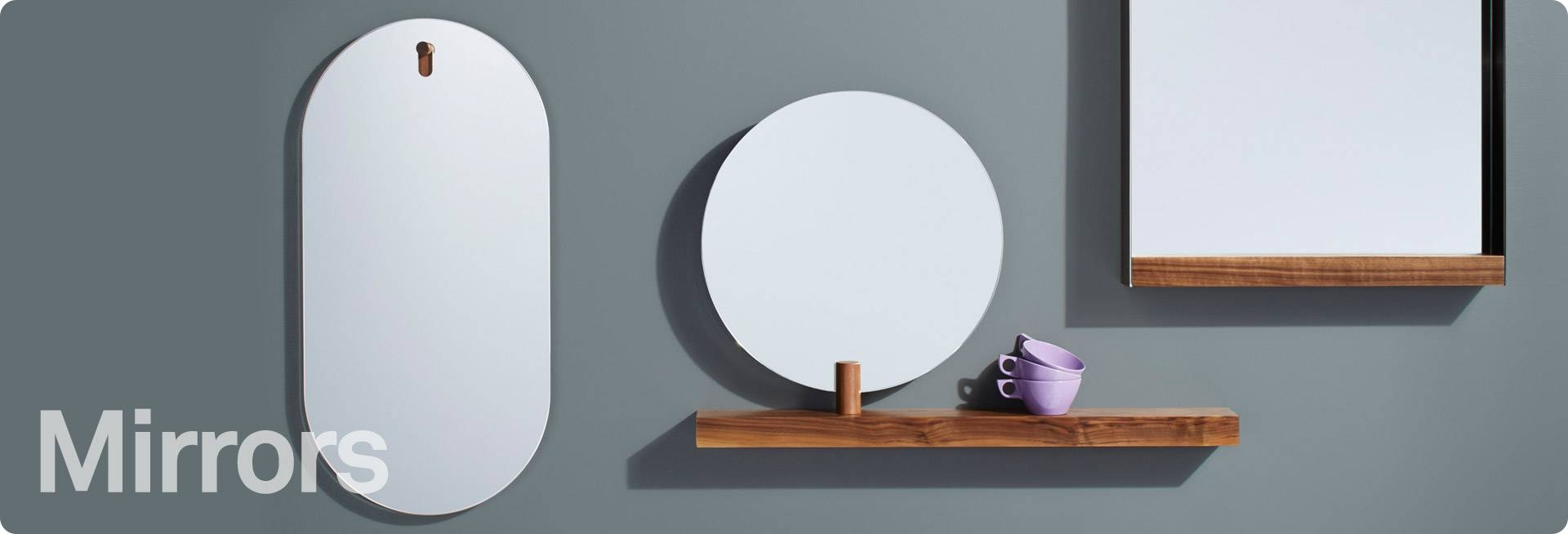 Modern Mirrors - Modern Floor & Wall Mirrors | Blu Dot with Modern Mirrors (Image 20 of 25)