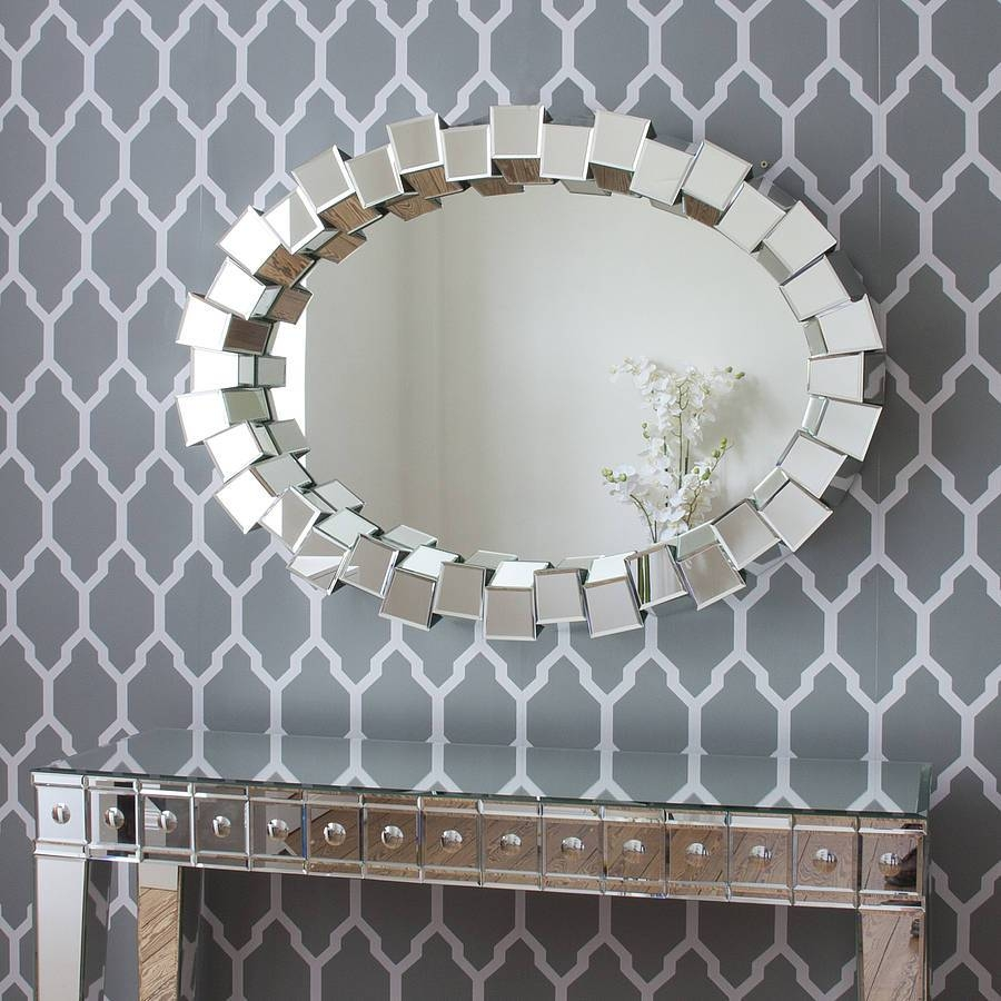 Modern Mirrors with regard to Contemporary Mirrors (Image 22 of 25)