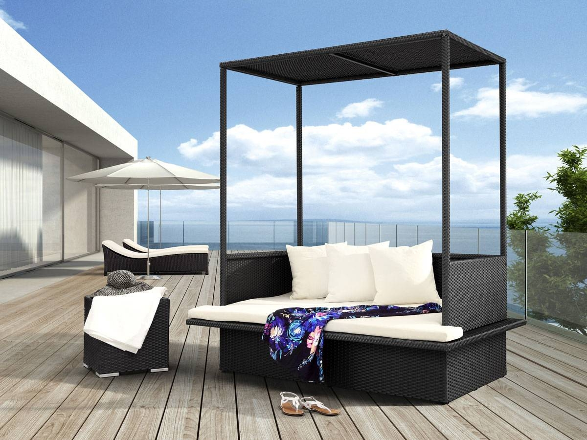 Modern Outdoor Furniture Models For Enhancing Outdoor Space Up pertaining to Outdoor Sofas With Canopy (Image 15 of 30)