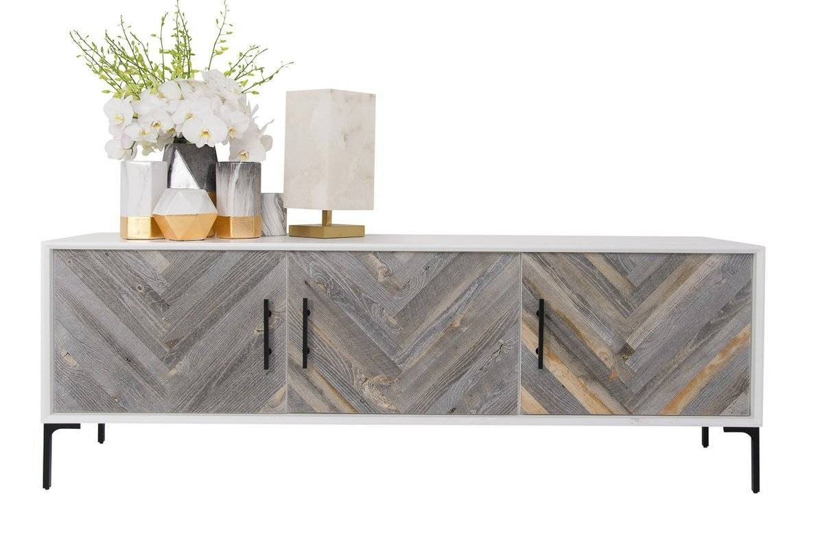 Modern Reclaimed Wood Sideboards + Buffets | Allmodern throughout Wood Sideboards (Image 12 of 30)
