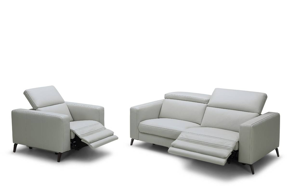 Modern Reclining | Sofa Comfortable & Contemporary Living Room for Modern Reclining Leather Sofas (Image 17 of 30)