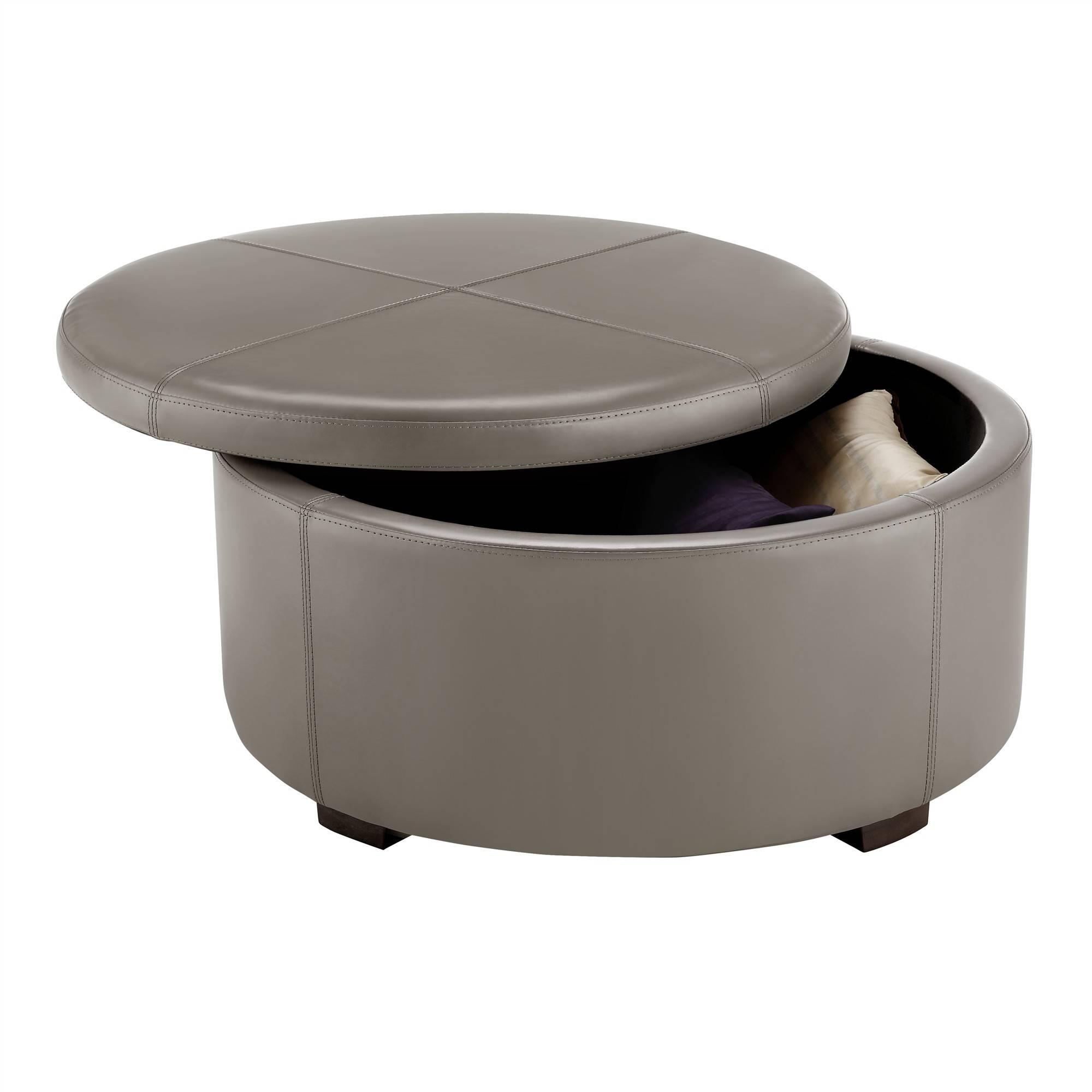 Modern Round Coffee Table. Coffee Tablemodern Round Black Glass inside Black Circle Coffee Tables (Image 21 of 30)