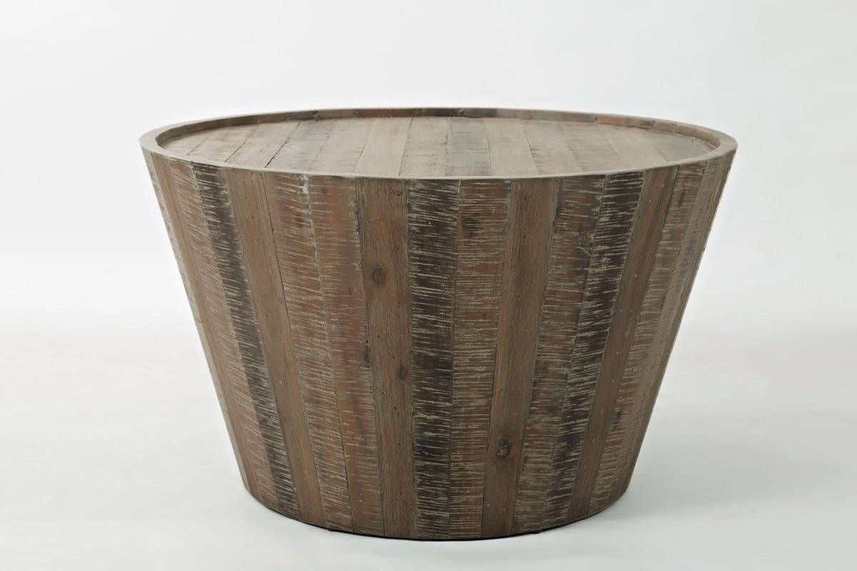 Modern Round Coffee Tables | Allmodern for Hammered Silver Coffee Tables (Image 21 of 30)