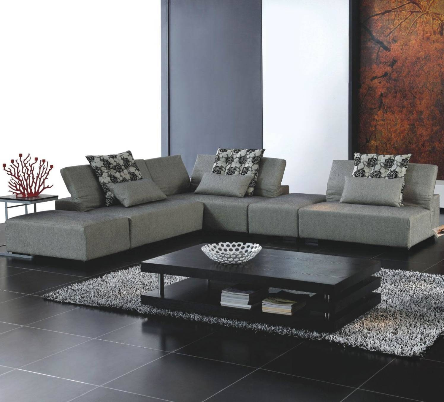 Modern Sectional Sofa. Simple Decoration Curved Sectional Sofa with Dobson Sectional Sofa (Image 14 of 30)