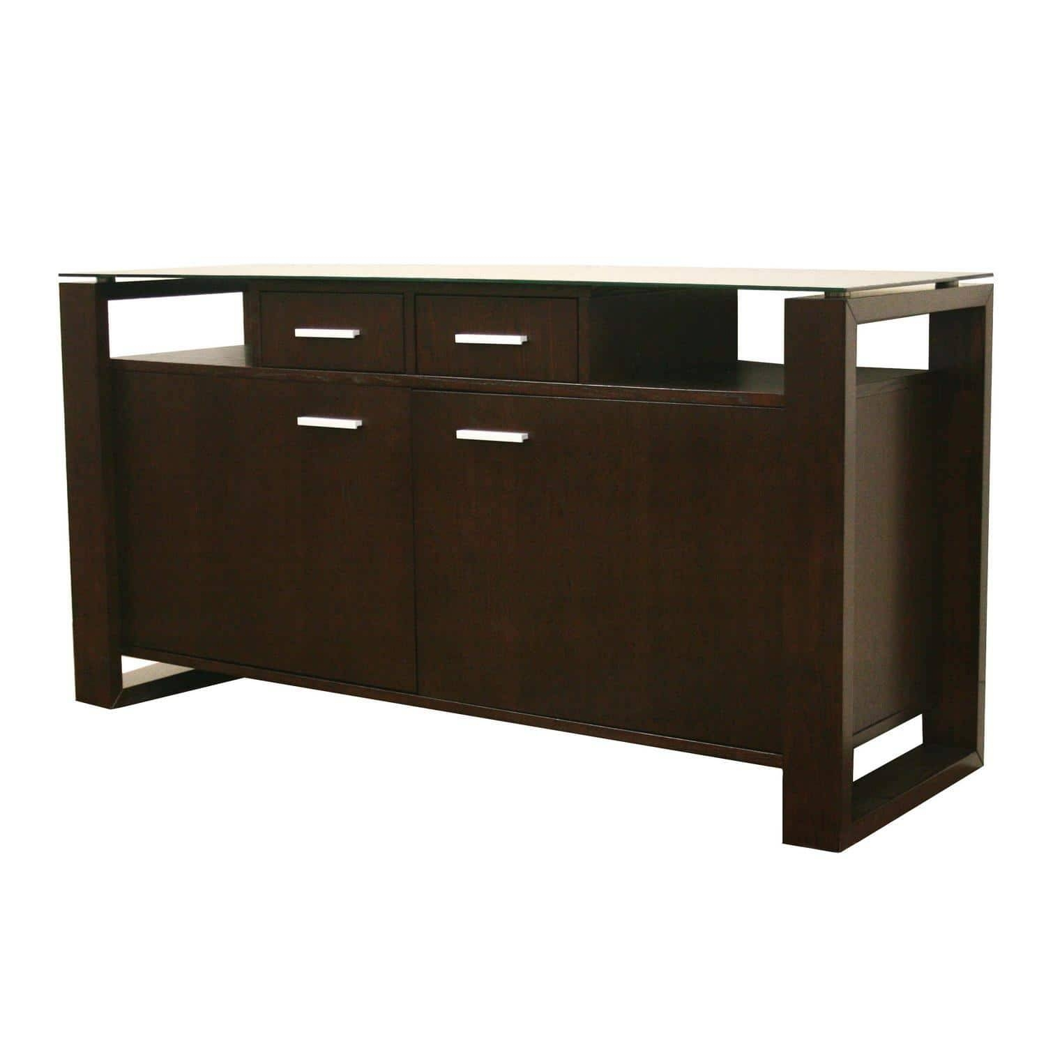 Modern Sideboard. Porto Sideboard. 12 Mid Century Modern Sideboard intended for Dark Brown Sideboards (Image 20 of 30)
