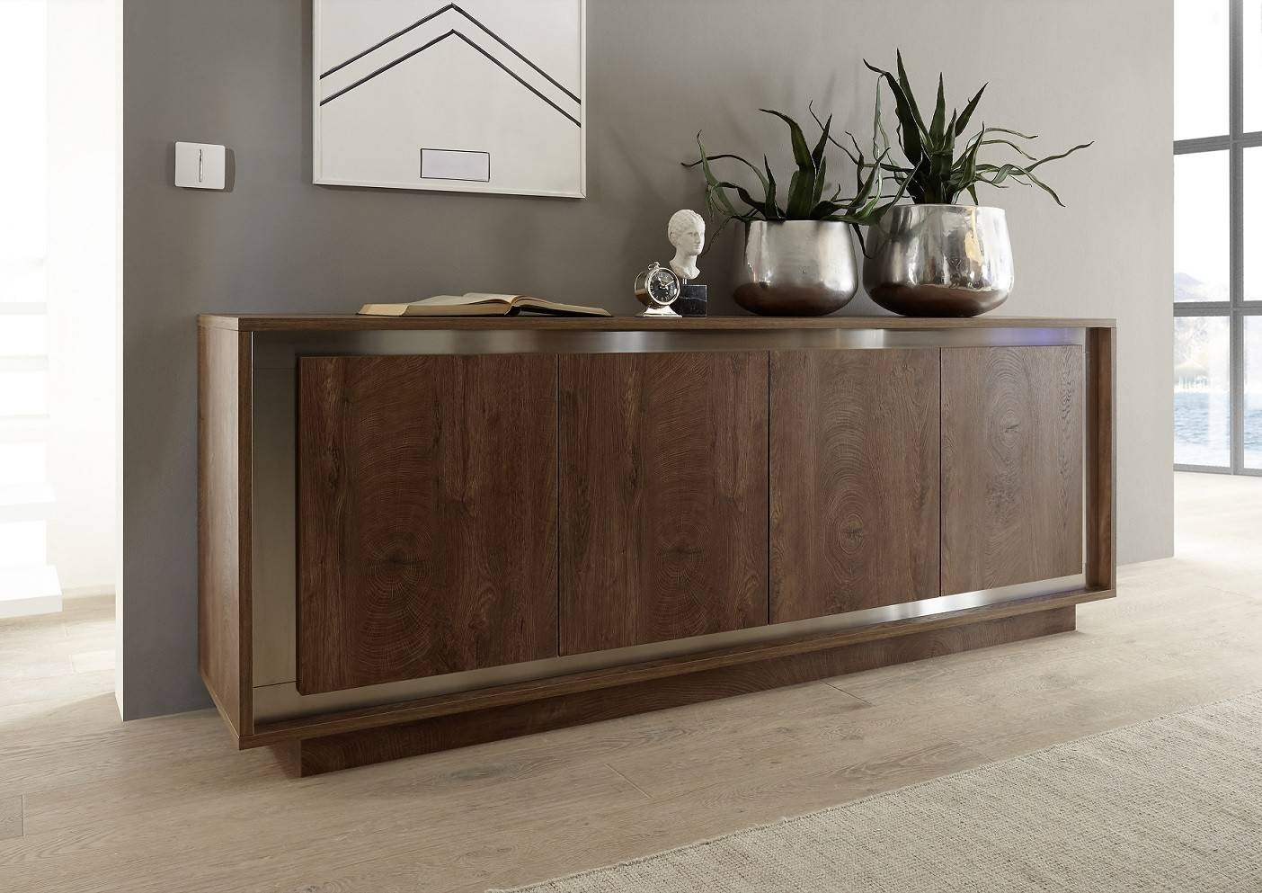 Modern Sideboards Uk - Sena Home Furniture within Contemporary Oak Sideboards (Image 14 of 30)