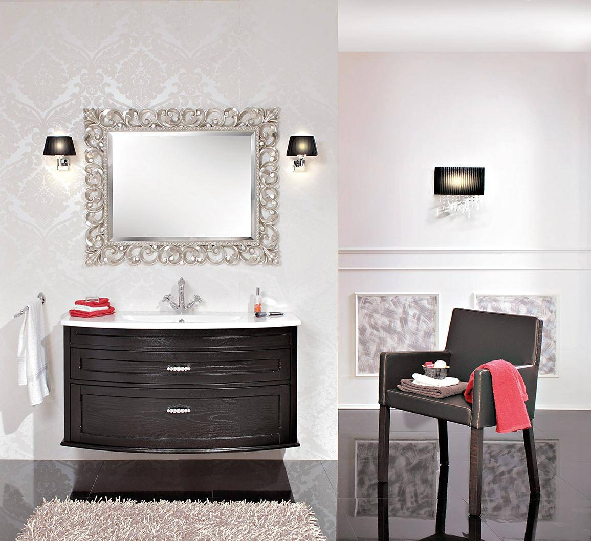 Modern Silver Bathroom Mirrors | Home in Modern Silver Mirrors (Image 16 of 25)