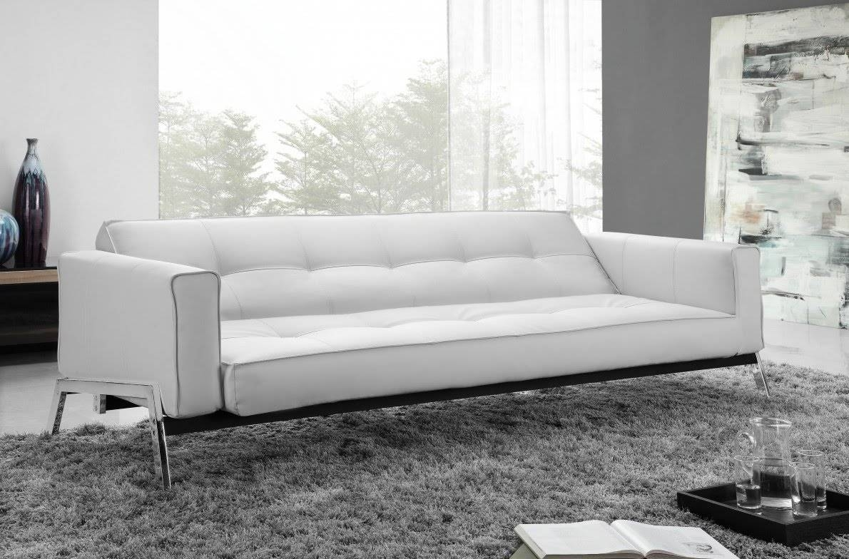 Modern Sofa Bed - Youtube pertaining to White Modern Sofas (Image 13 of 30)