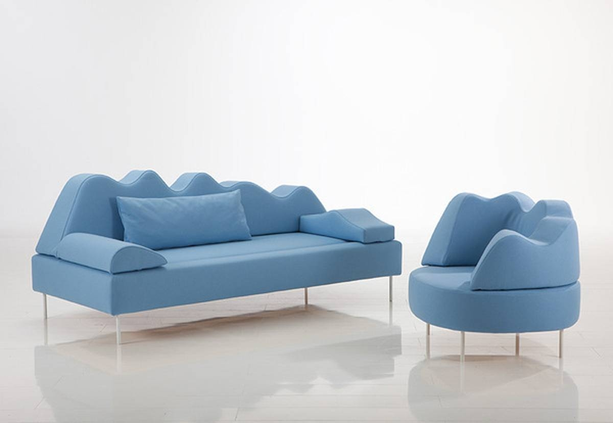 Modern Sofa Chairs within Blue Sofa Chairs (Image 21 of 30)