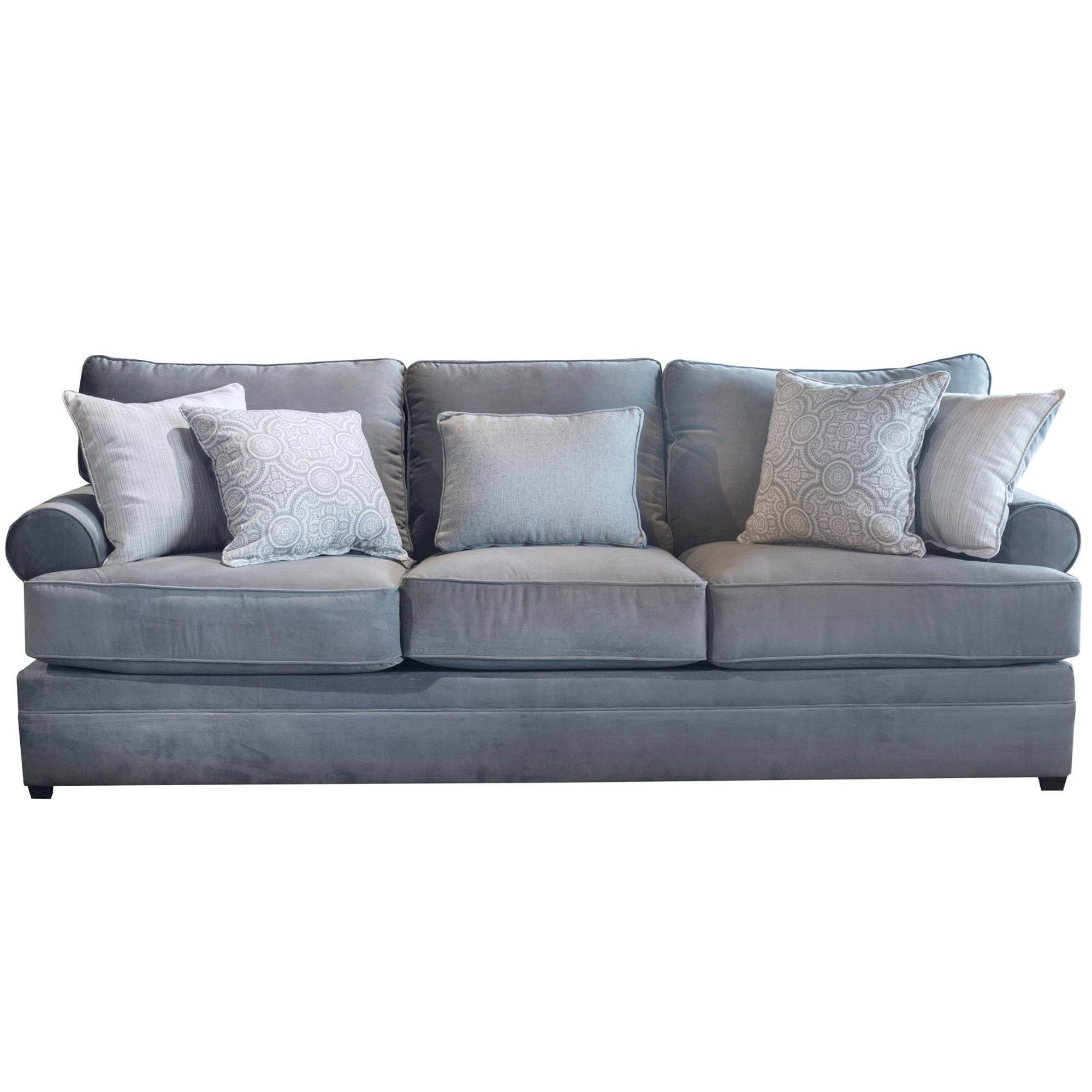 2017 Latest Backless Chaise Sofa