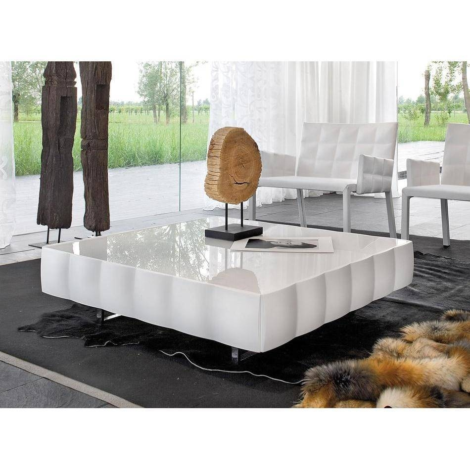 Modern Square Coffee Table Low Square : Modern Square Coffee Table Intended For Large Square Low Coffee Tables (View 12 of 30)