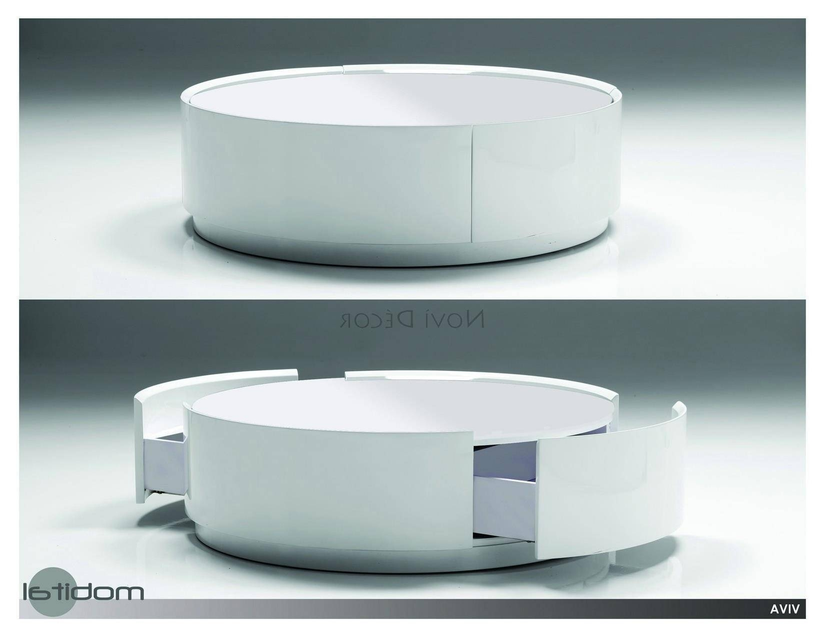 Modern Table Unique On Modern Table Centerpiece Round Coffee Table throughout Round Swivel Coffee Tables (Image 20 of 30)