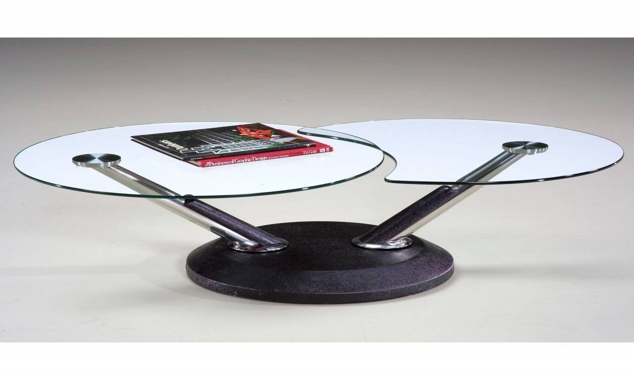 Modesto Glass Coffee Table | Idi Design inside Revolving Glass Coffee Tables (Image 19 of 30)