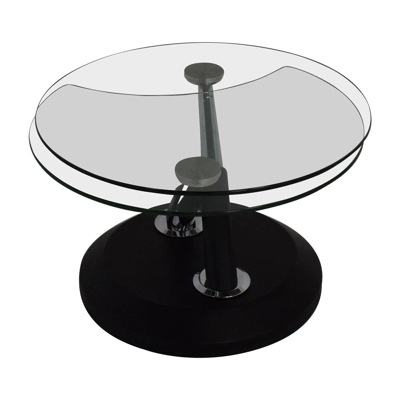 Modesto Glass Coffee Table | Idi Design regarding Swivel Coffee Tables (Image 21 of 30)