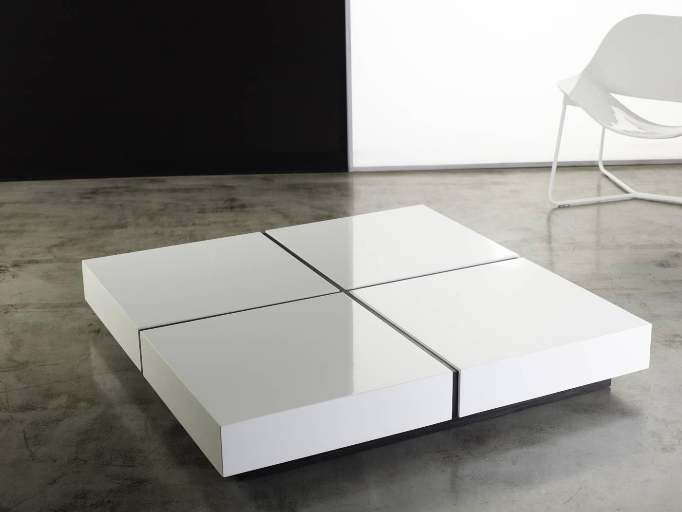 Modloft Modern & Contemporary Furniture: Dean Coffee Table within Lacquer Coffee Tables (Image 22 of 30)