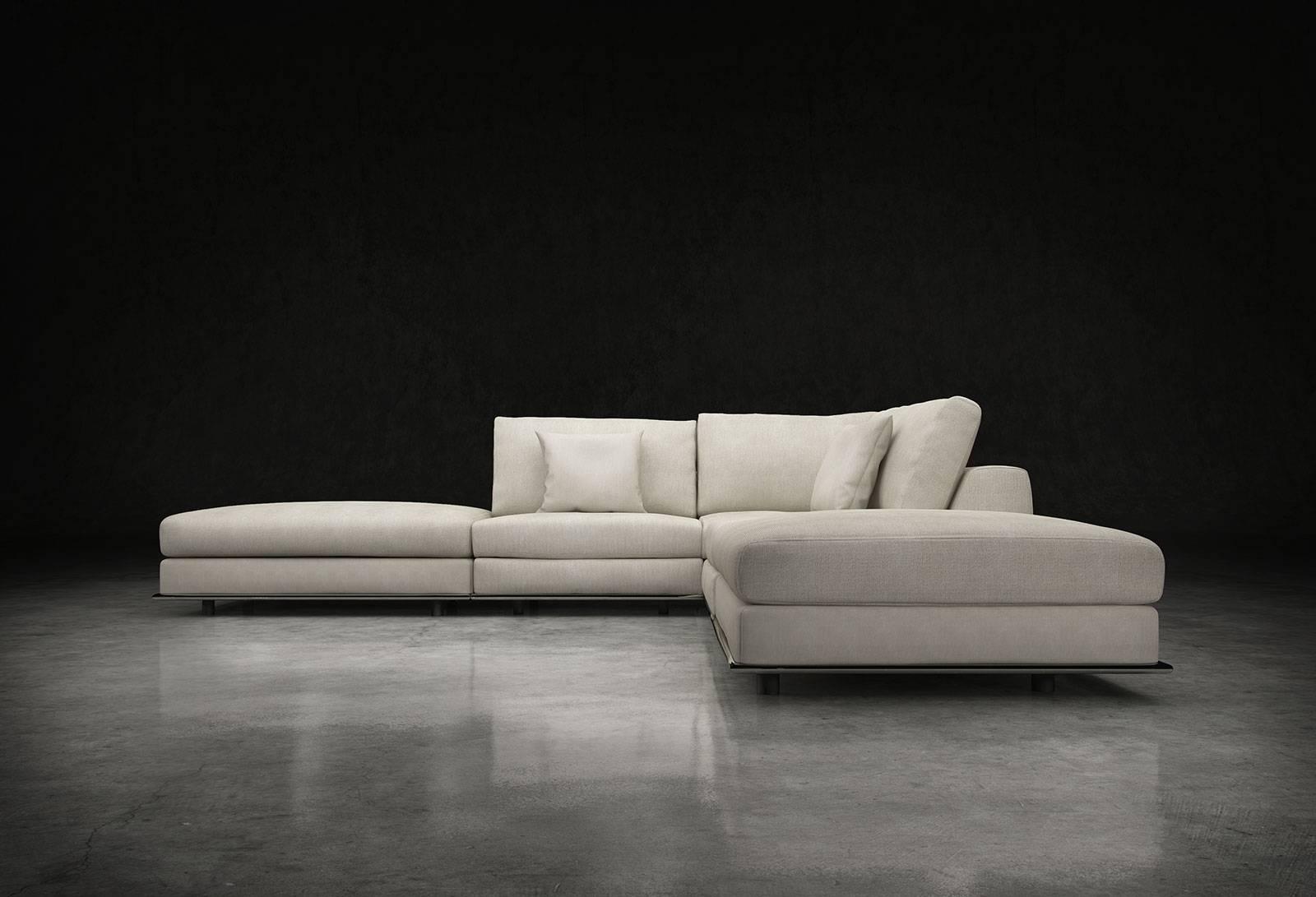 Modloft Perry Armless Corner Sofa Md820 Set04 Official Store Regarding Armless Sectional Sofas (View 3 of 30)