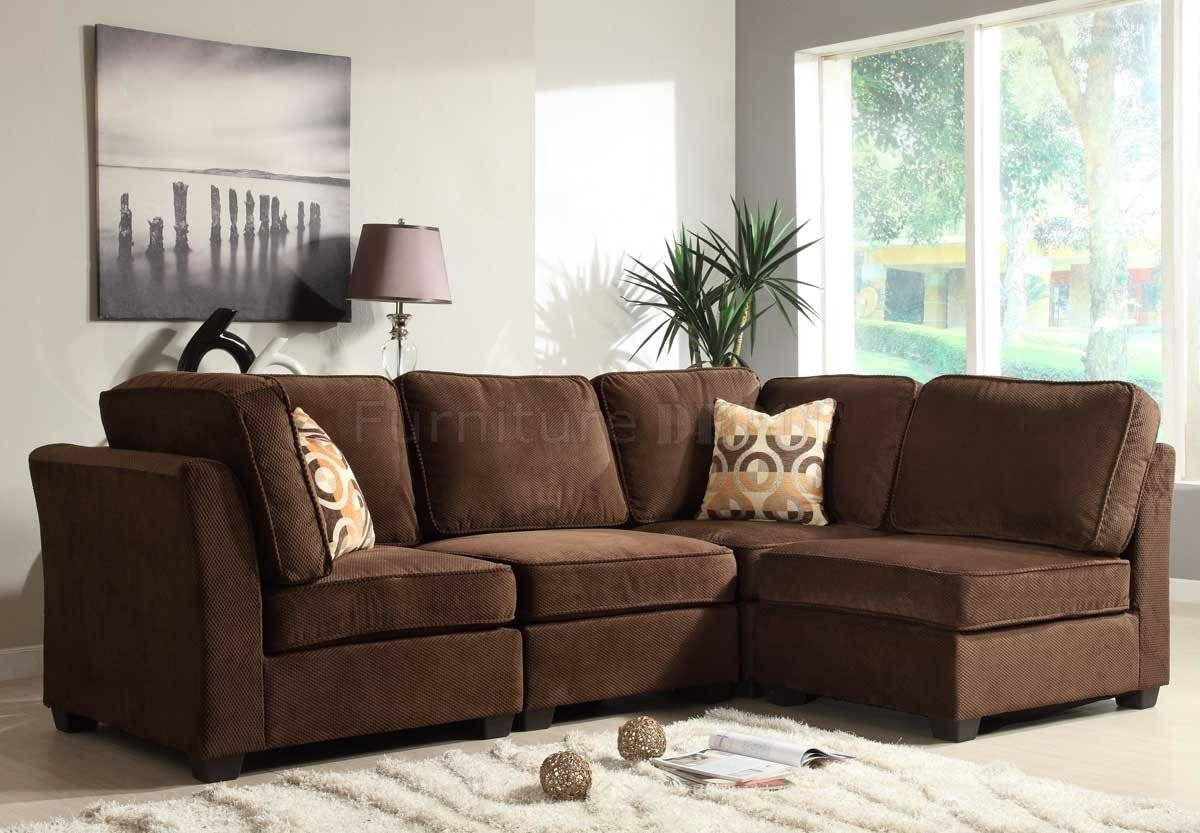 Featured Photo of Small Modular Sectional Sofa