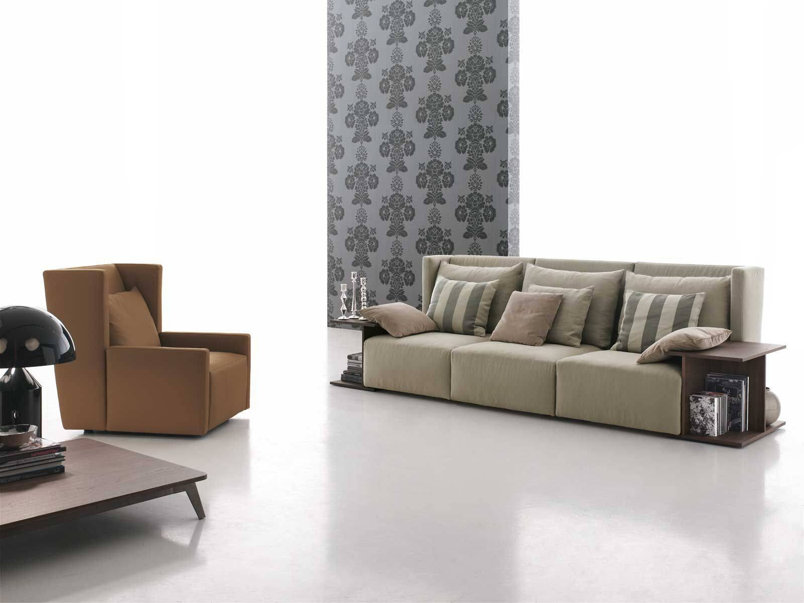 Modular Sofa / Contemporary / Fabric / 3-Seater - Club - Gruppo intended for Contemporary Fabric Sofas (Image 15 of 30)