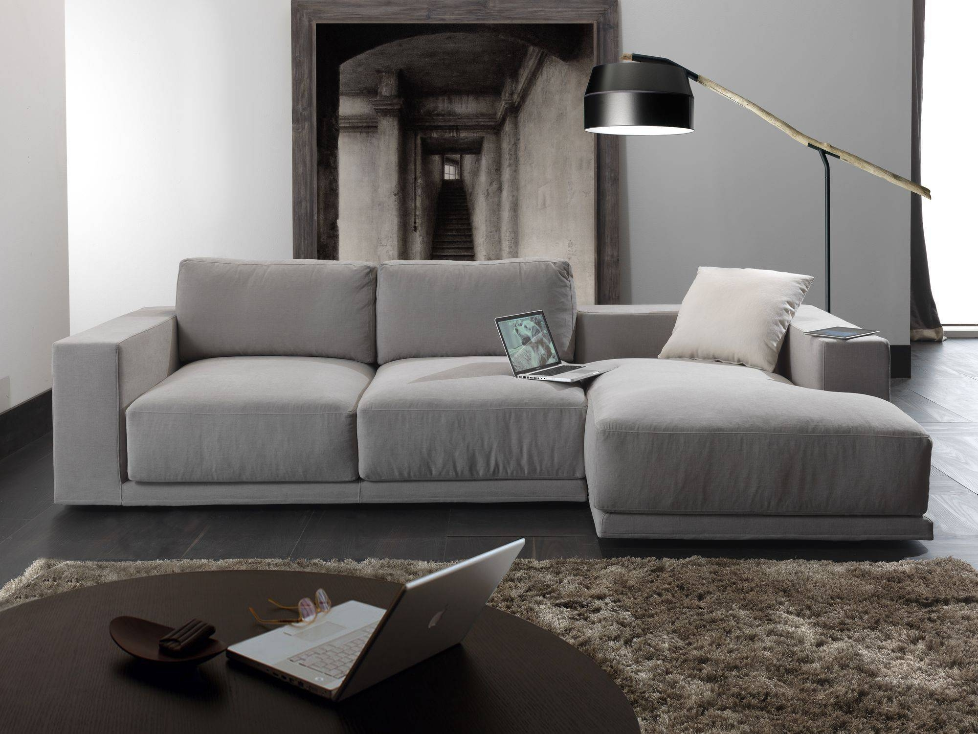 Modular Sofa / Contemporary / Fabric / 3-Seater - Relax Square inside Contemporary Fabric Sofas (Image 18 of 30)