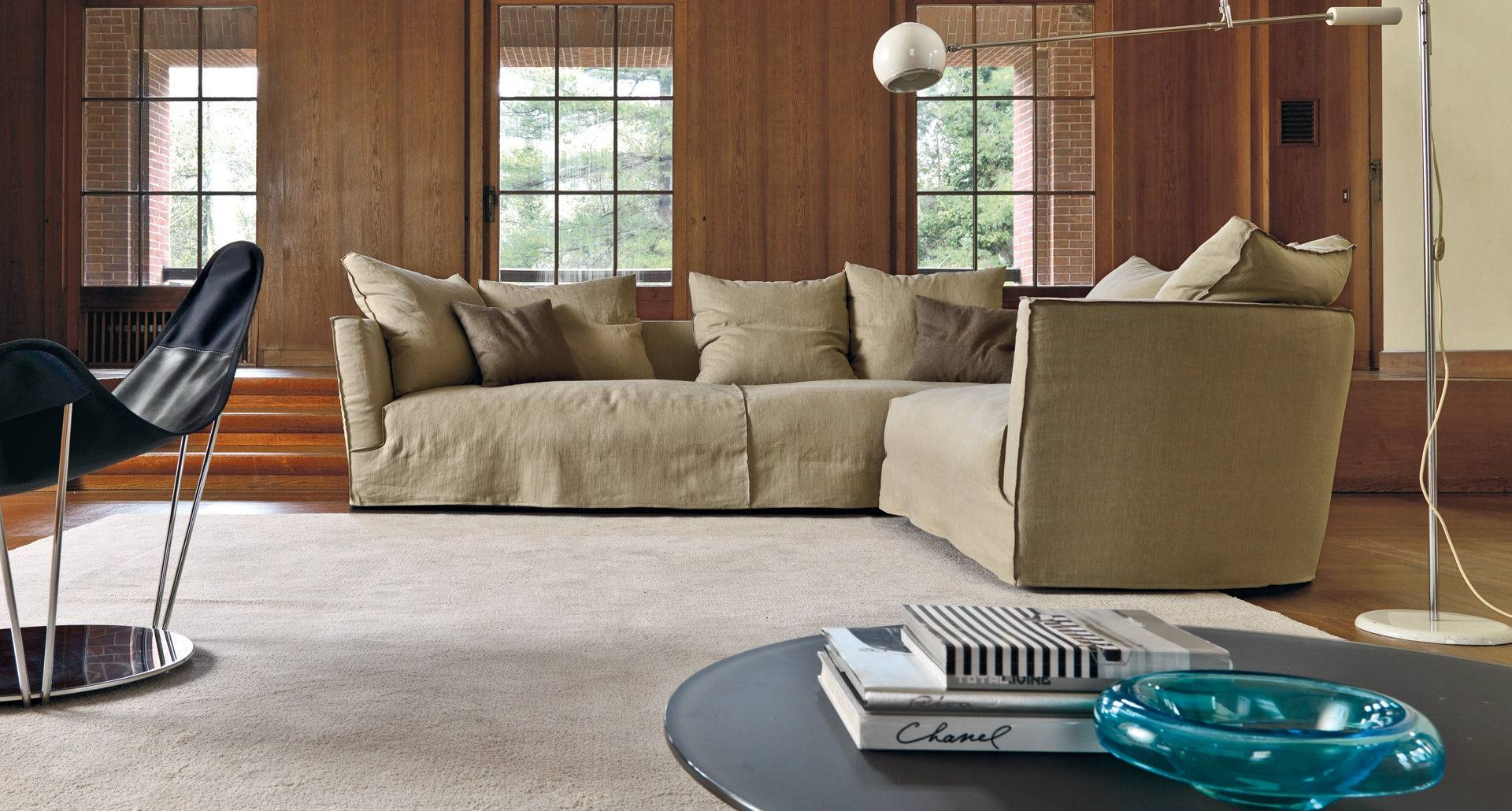 Modular Sofa / Contemporary / Fabric / 4-Seater - Lov Trend in Sofa Trend (Image 9 of 25)