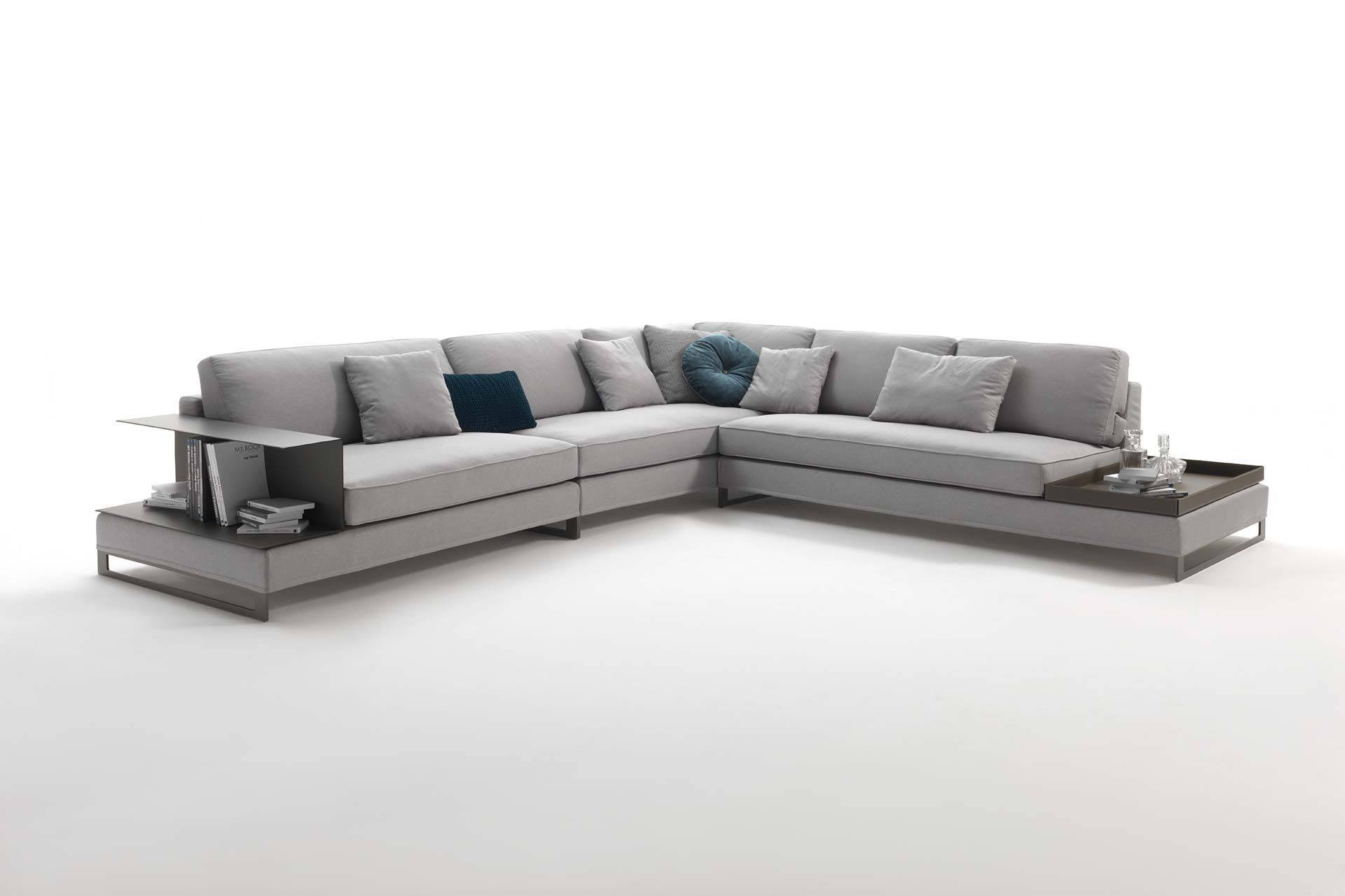 Modular Sofa / Contemporary / Fabric / Leather - Davis Case throughout Contemporary Fabric Sofas (Image 21 of 30)