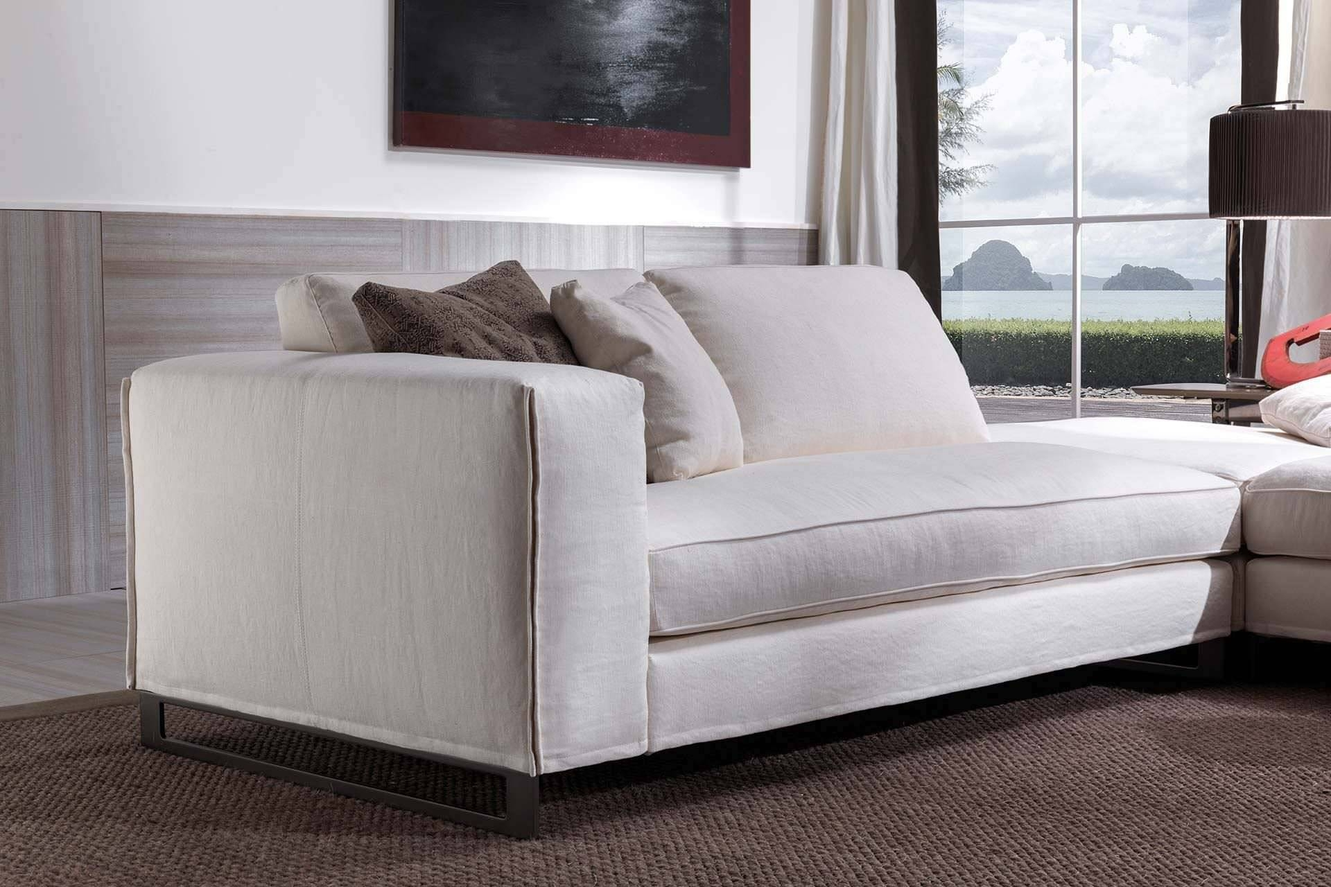 Modular Sofa / Contemporary / Fabric / Leather - Davis Twin for Contemporary Fabric Sofas (Image 22 of 30)
