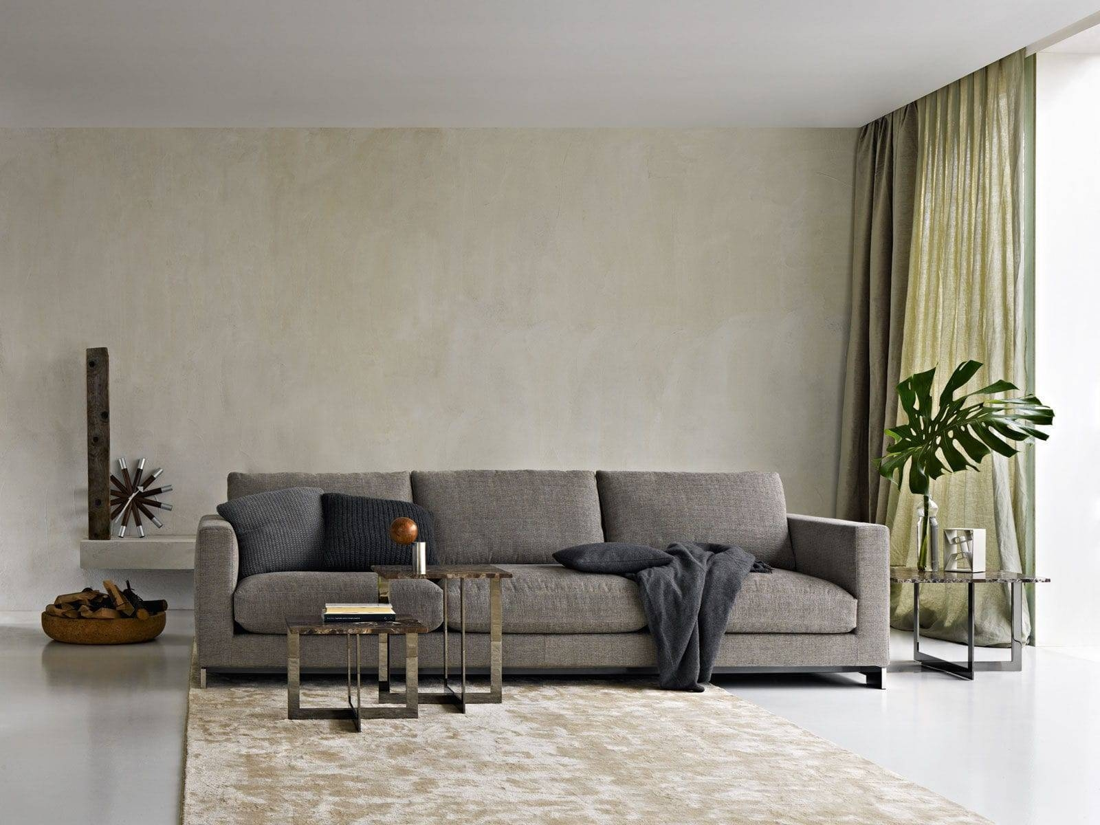 Modular Sofa / Contemporary / Fabric / Leather - Reversi - Molteni & C regarding Contemporary Fabric Sofas (Image 23 of 30)