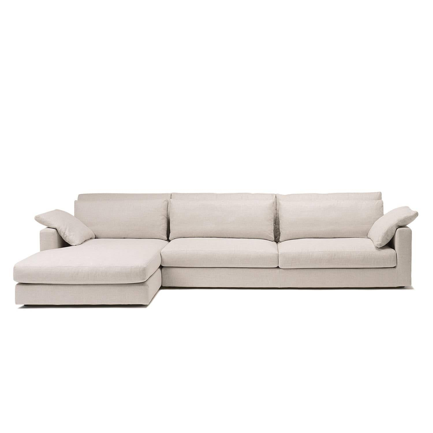 Modular Sofa / Contemporary / Fabric / Leather - Thomas - Berto regarding Small Modular Sofas (Image 12 of 25)