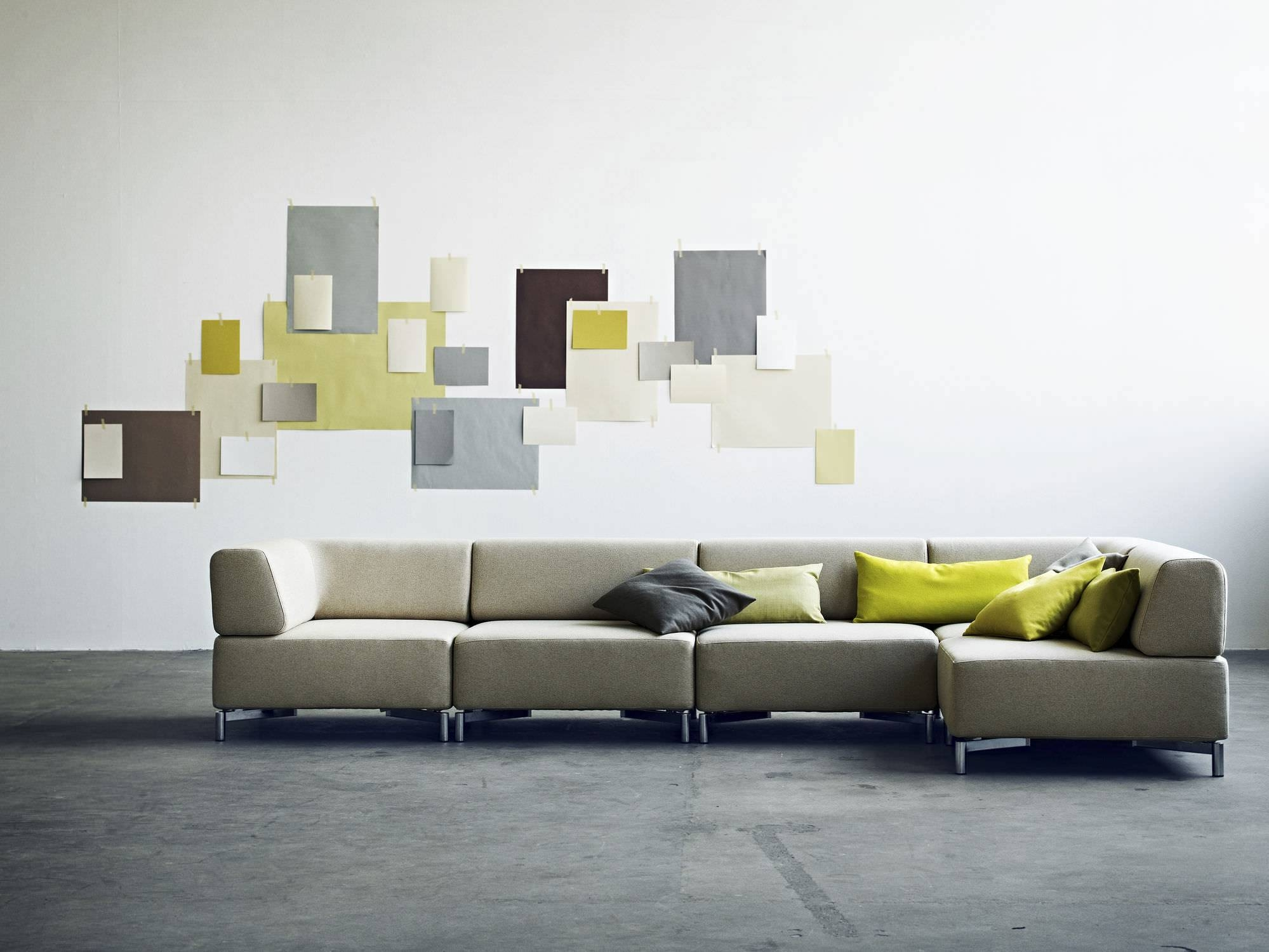 Modular Sofa / Contemporary / Fabric / With Removable Cover intended for Sofas With Removable Covers (Image 18 of 30)