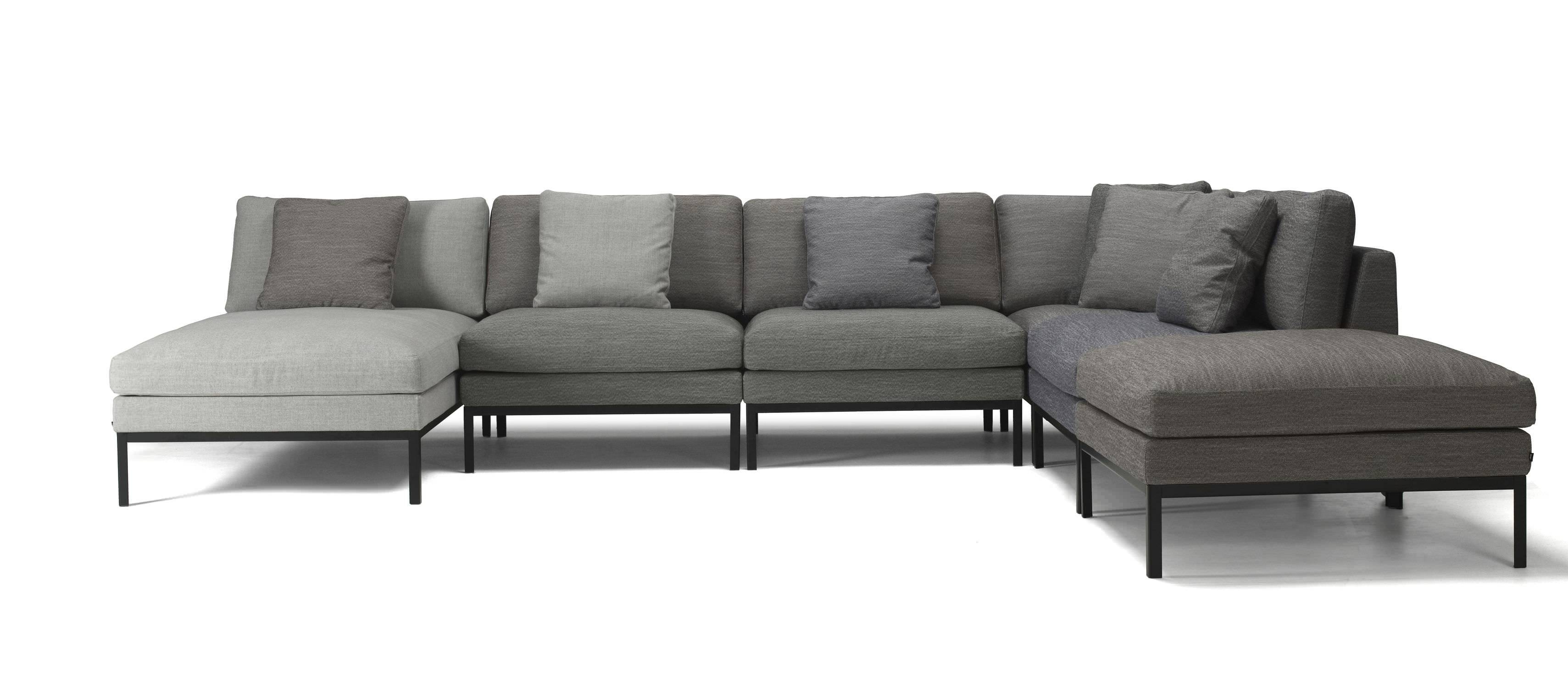 Modular Sofa / Corner / Contemporary / Fabric - Joinemma regarding Contemporary Fabric Sofas (Image 25 of 30)