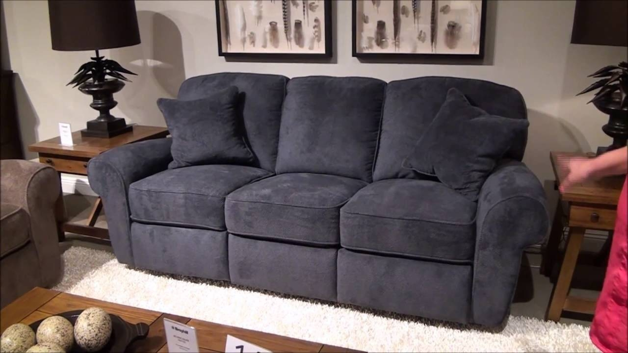 Molly Power Reclining Sofalane Furniture - Youtube with Lane Furniture Sofas (Image 23 of 25)