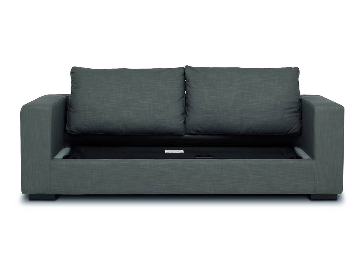 Mondo - 3 Seat Sofa Bed | Loungelovers inside Cushion Sofa Beds (Image 13 of 30)