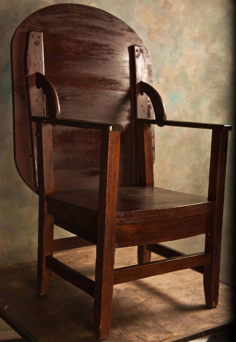 Monks Chair/table | Collectors Weekly Pertaining To Monk Chairs (View 3 of 30)