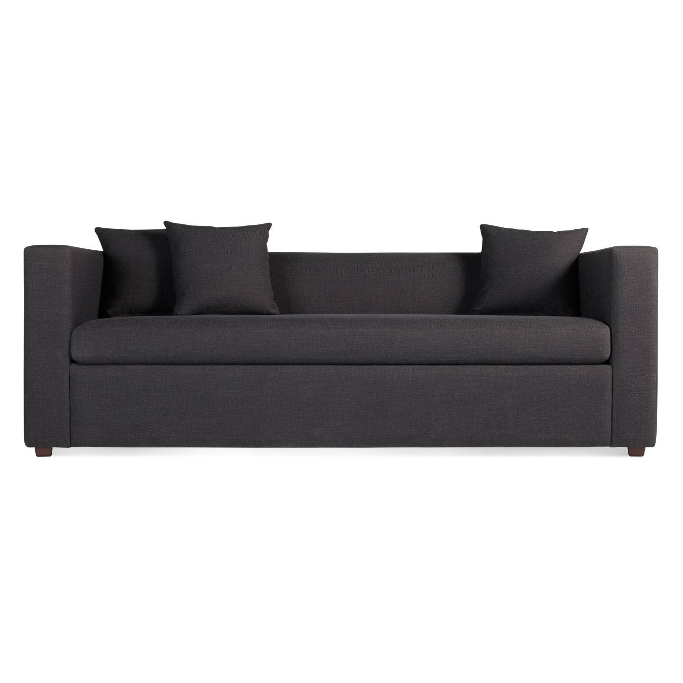 Mono Modern Sleeper Sofa - Single Cushion Sofa | Blu Dot with Cushion Sofa Beds (Image 14 of 30)