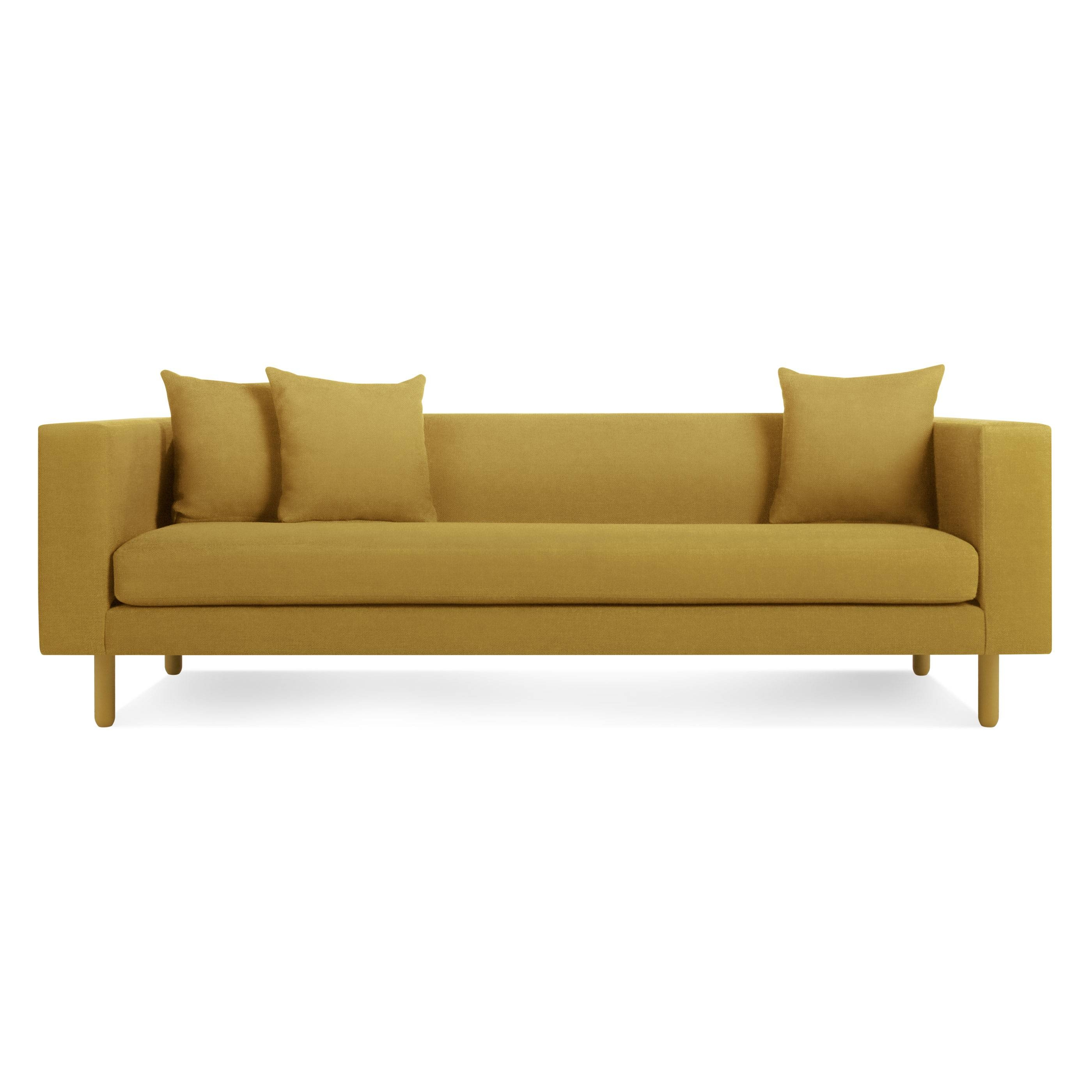 Mono Sofa - Single Cushion Sofa | Blu Dot pertaining to One Cushion Sofas (Image 12 of 30)