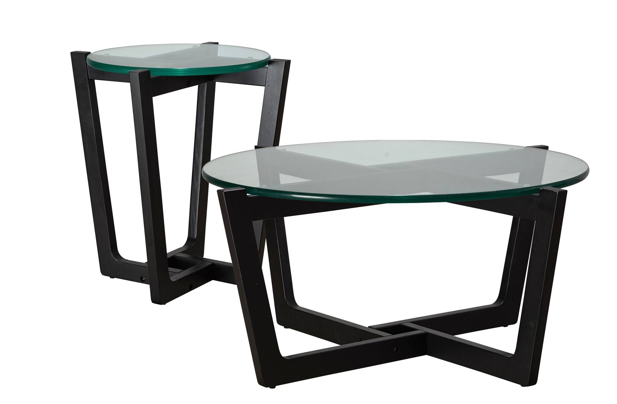 Monterey Black Leg Coffee & Side Table Set | Temple & Webster with Monterey Coffee Tables (Image 16 of 30)