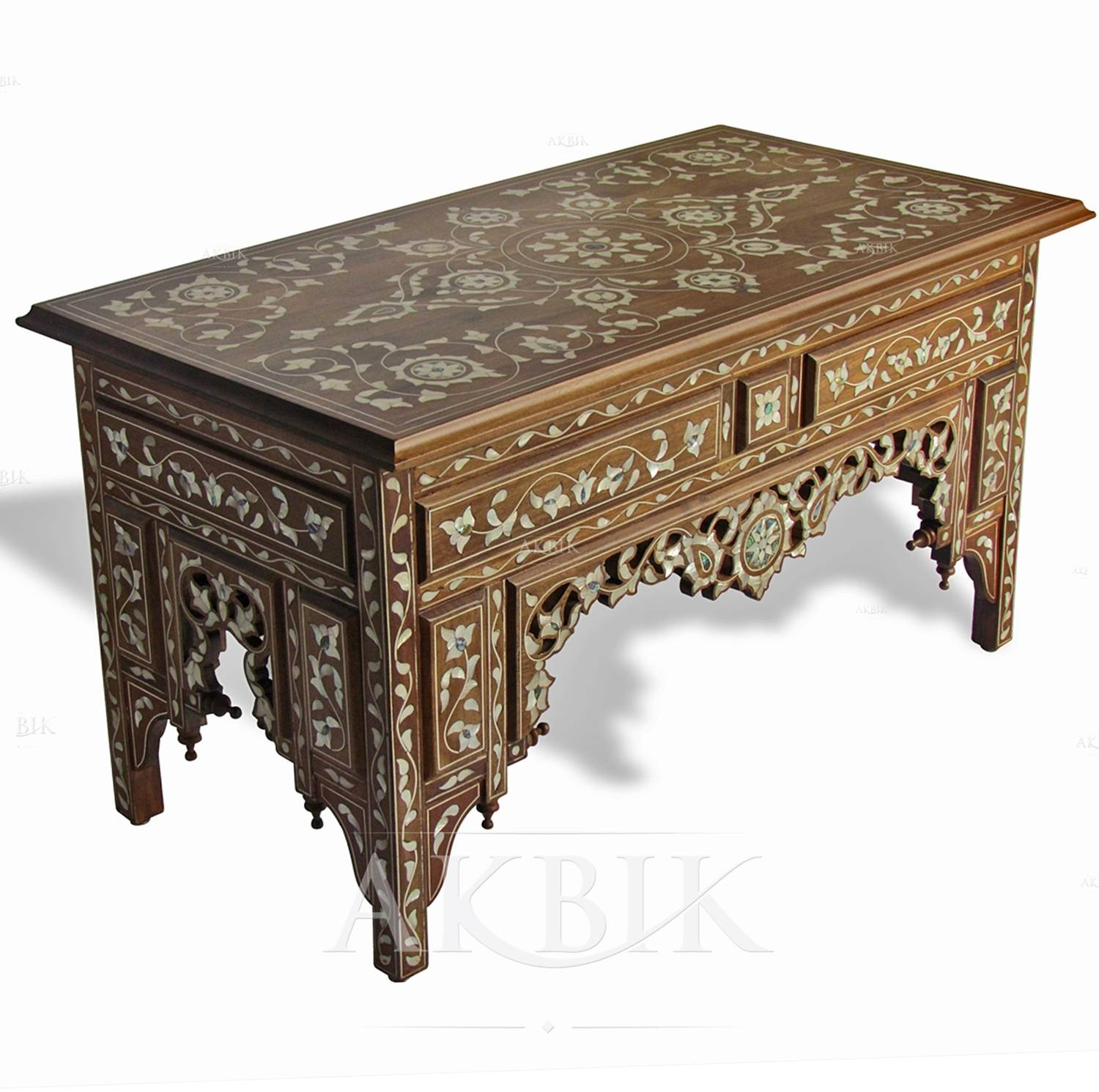 Moroccan Coffee Table | Idi Design with regard to Mother Of Pearl Coffee Tables (Image 25 of 30)