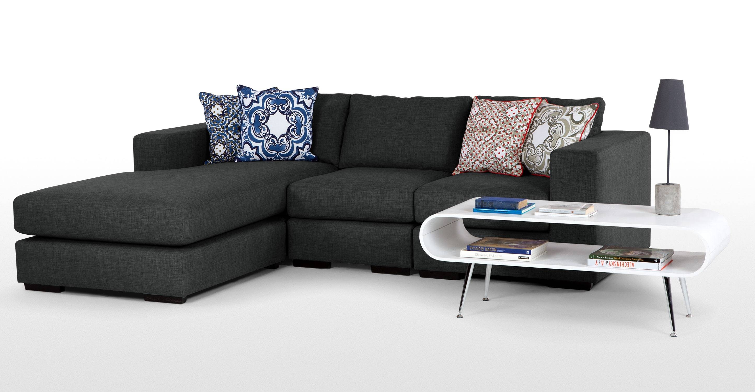 Mortimer 4 Seater Modular Corner Sofa, Shadow Grey | Made inside Modular Corner Sofas (Image 27 of 30)