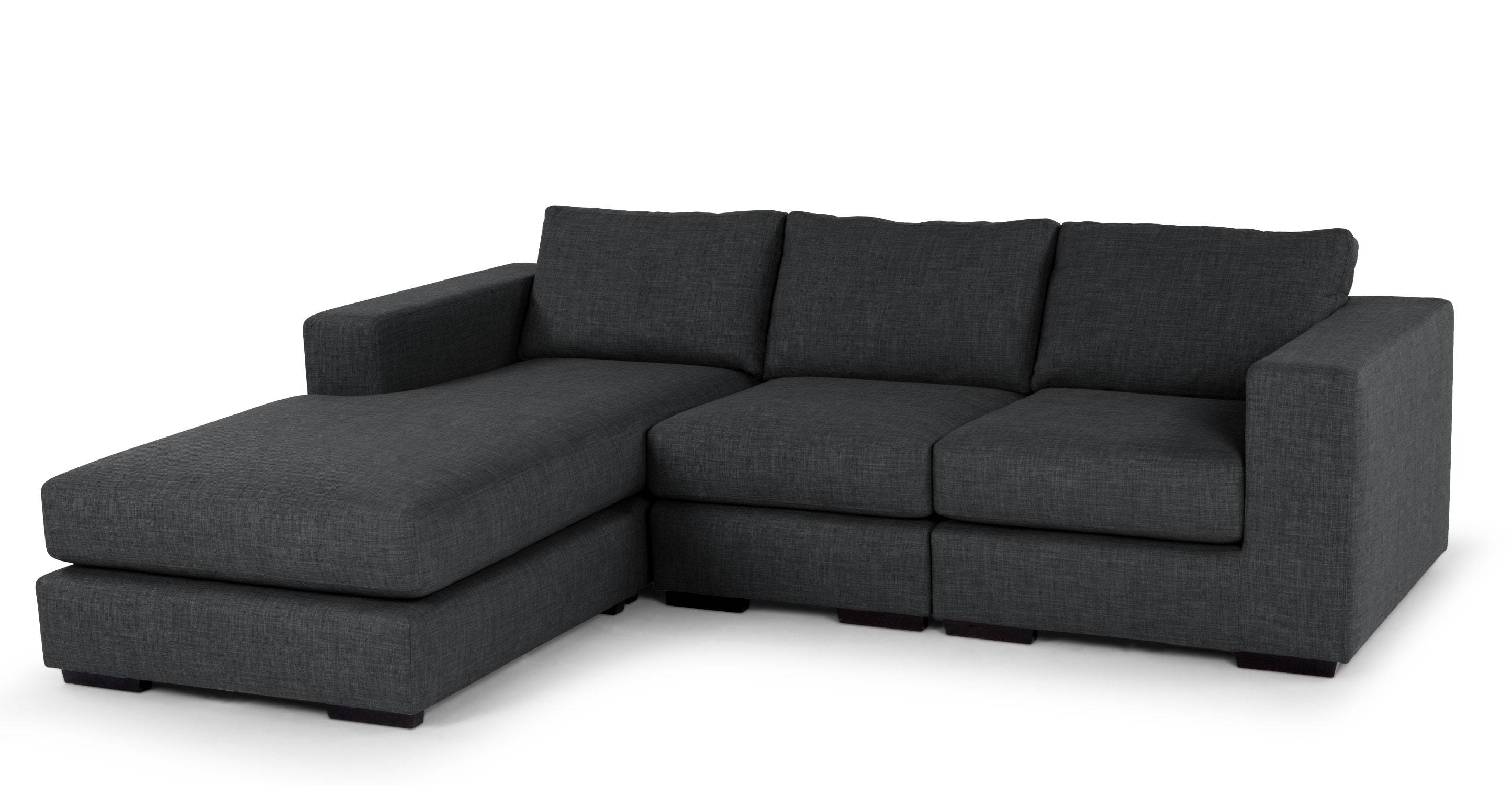 Mortimer 4 Seater Modular Corner Sofa, Shadow Grey | Made within Modular Corner Sofas (Image 28 of 30)