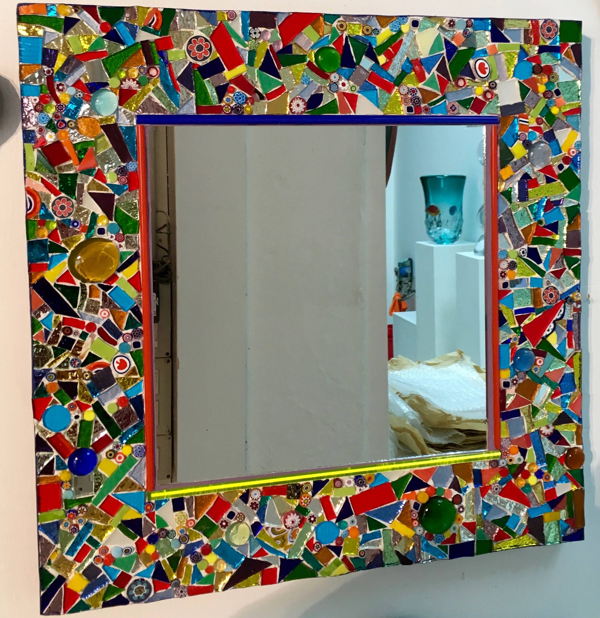 Mosaics Mirrors with regard to Mosaic Mirrors (Image 19 of 25)