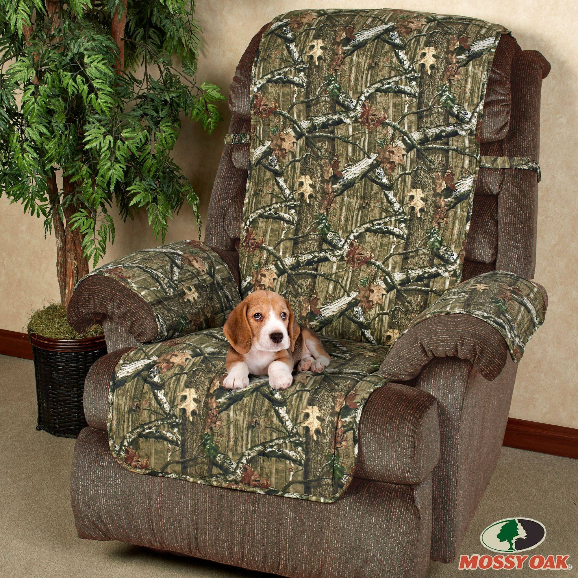 Mossy Oak Break Up Infinity Camo Furniture Protectors in Camo Sofa Cover (Image 13 of 30)